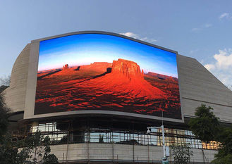 China Full Color Fixed Outdoor Advertising LED Display Electronic Board P10 200-800W supplier