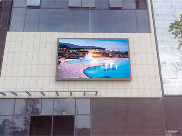China Customize Pixel Outdoor Full Color LED Screen P8 200-800W Video Display Function factory