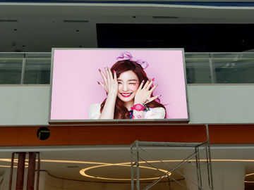 China Advertising Board Led Wall Screen Display Outdoor P6 1R1G1B For Rental / Fixed distributor