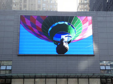 China Waterproof LED Video Wall Screen Outdoor Advertising Display P10 Constant Current factory