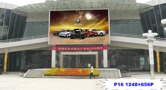 China P16 HD Full Color High Brightness LED Display 14-16 Bit Grey Scale For Video Wall factory