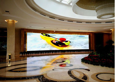 China SMD P2.5 Indoor Led Video Screen , 1000 Nits Full Color Led Display Board 1R1G1B factory