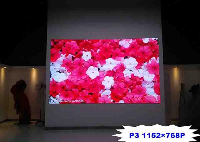 1792x832P P3 Indoor Full Color Led Display Screen , Led Advertising Board 1000 Nits